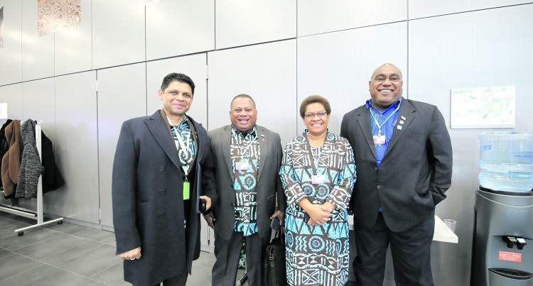 World Converges: Bainimarama Thanks The City Of Bonn For Hosting