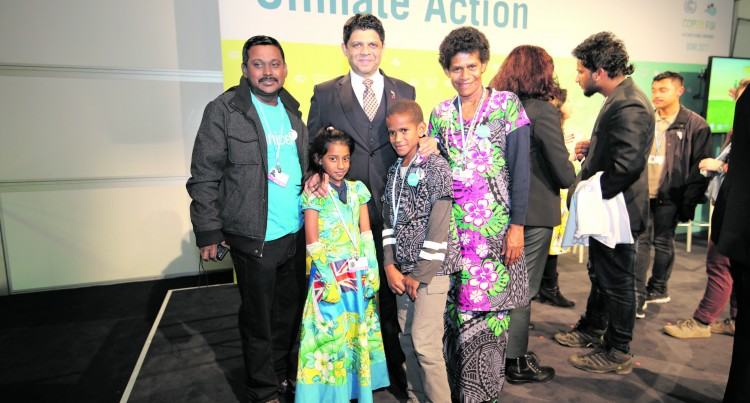 COP23:  Young Stars Wow International Audience