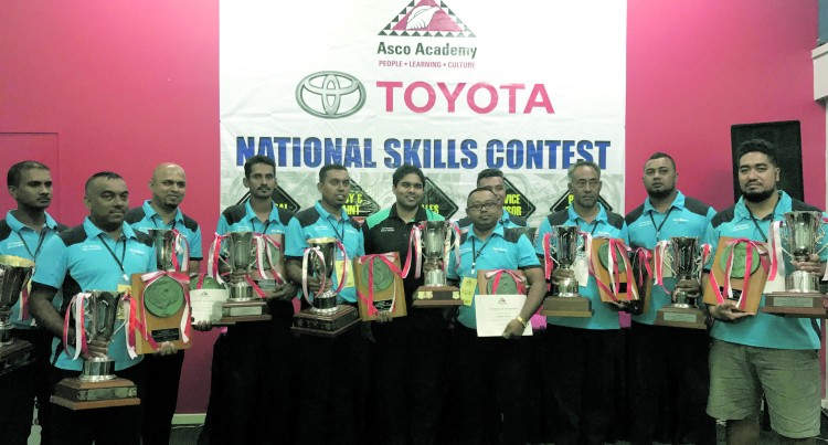 ACHIEVEMENT: National Skills Contest Winners  Announced By Toyota