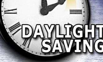 Daylight Saving Starts Tomorrow