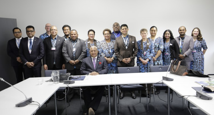 CLIMATE CHANGE: Let's Talanoa, A Space To  Discuss, Share At COP23