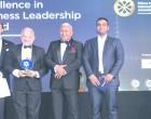 Mark Halabe Scoops Leadership Award