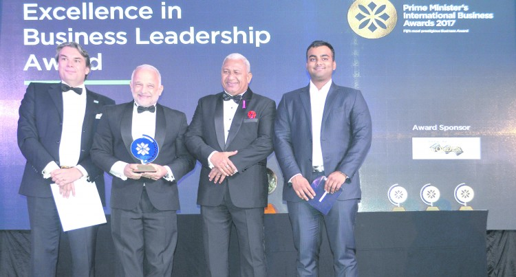 Mark Halabe Scoops Leadership Award