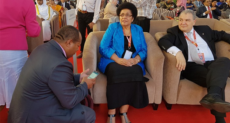 Dr Luveni Leads ParliamentARY  Delegation TO Commonwealth Meet