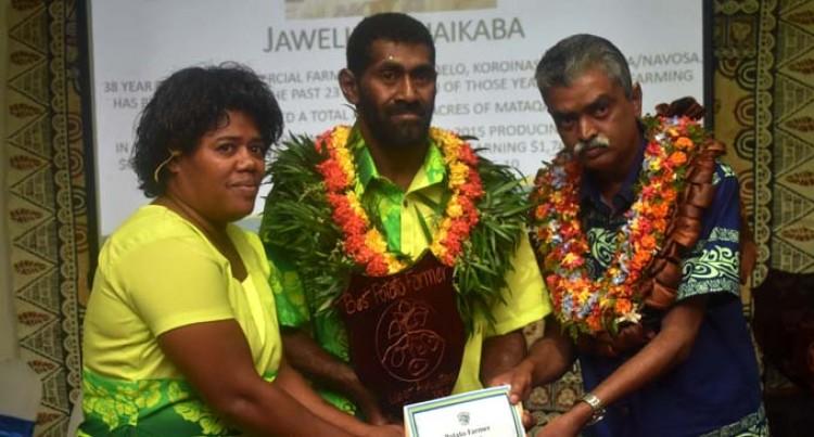 Jaweli Scoop Best  Potato Farmer Award