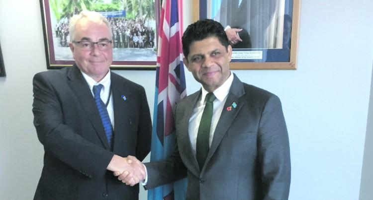 EU assures Fiji support for COP23 Presidency