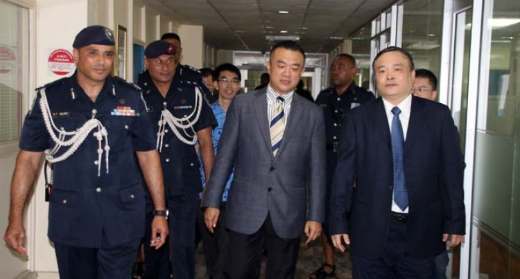 Head Of Security For China's Province Meets Qiliho