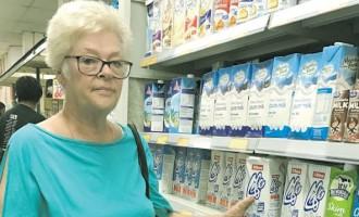 Artist Sharon Frequents Supermarket For Fresh Supplies