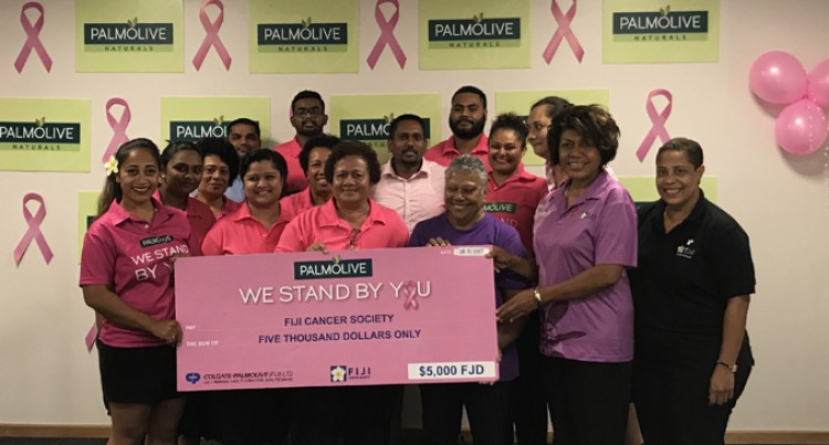Colgate-Palmolive do their bit to fight against cancer