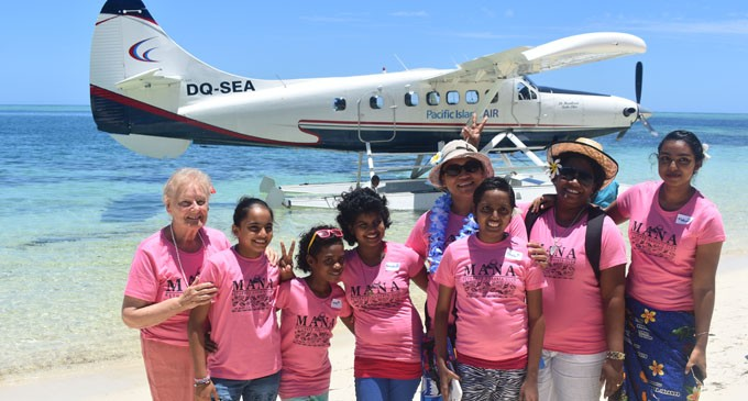 WOWS Kids Given Early Christmas Treat On Mana Island