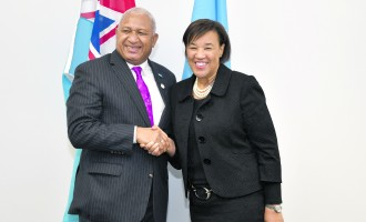 Bainimarama Leads  Support To Pathway 2050