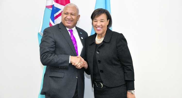 Bainimarama Leads  Support To Pathway 2050