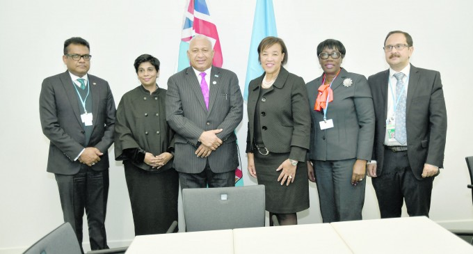 Bainimarama Tells: Why I  Took Up COP Presidency