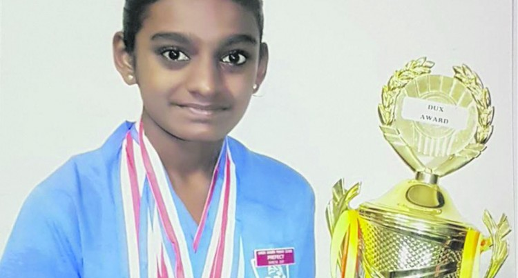 Gandhi Bhawan Primary School: Dux Makes Father Proud