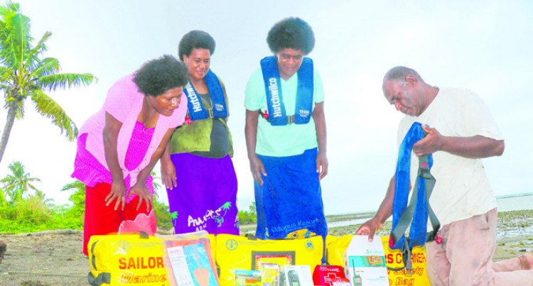 Food and Agriculture Organisation Donates  Marine Safety Grab Bags to Silana Fishers