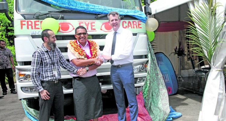 Truck Enables Access To Mobile Eye Care Services