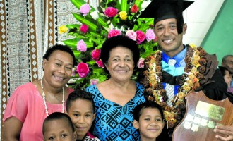 Fulton College top graduate: My wife's support got me here