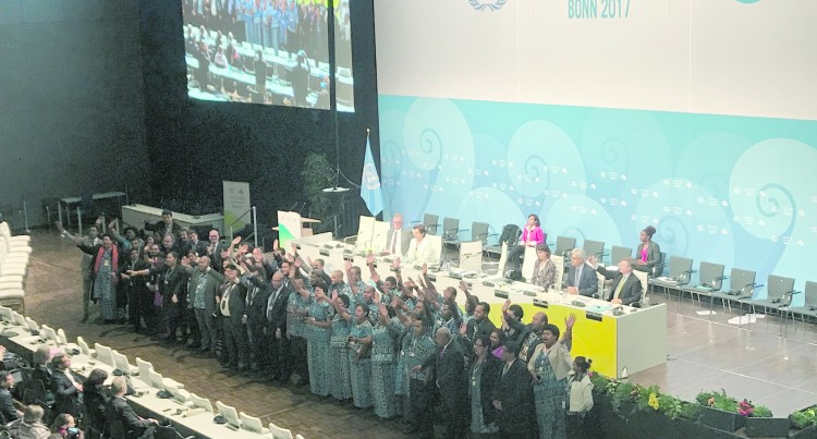 Fijian Presidency Praised, Smiles Say It All In Bonn