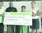 BSP Hands Over $10,000  Cheque For Cancer Campaign