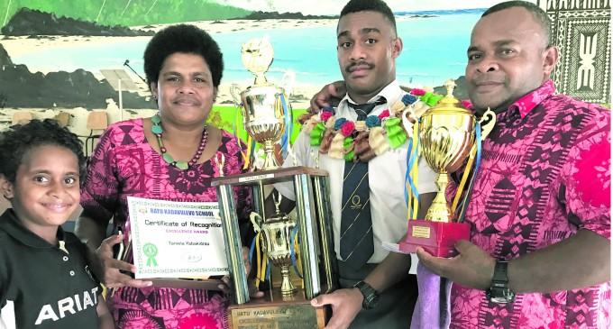 Deans U-18 Dream Team Captain Gets Excellence Award