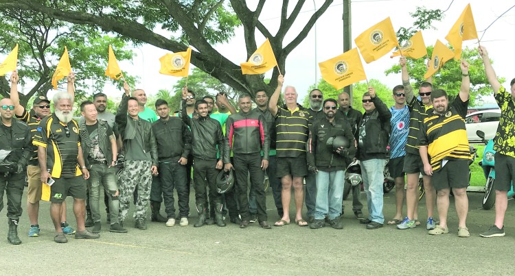 Koya Leads Charge With Bikers In Creating Movember Awareness