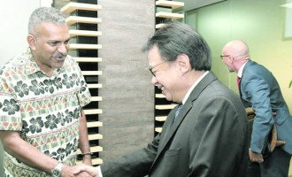 Acting PM Farewells Envoys Of Aust, NZ and Indonesia