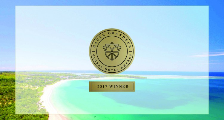 InterContinental Fiji Golf Resort & Spa  Recognised At Haute Granduer Hotel Awards
