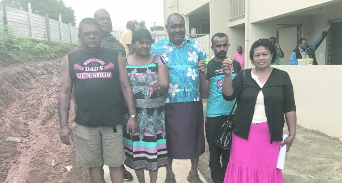 Nabua Fire Victims In New Homes