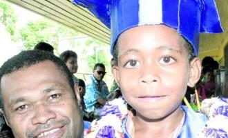 Proud dad says pre-school should be compulsory