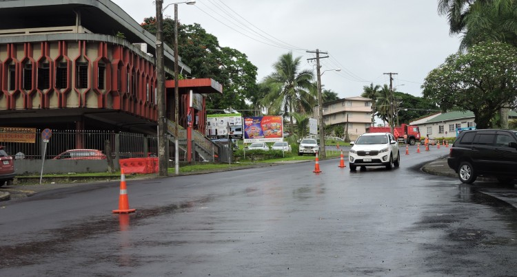 MCARTHUR STREET IS NOW OPEN TO TRAFFIC