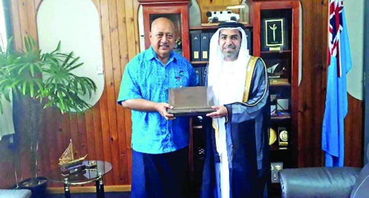 Non-Resident Ambassador Of United Arab Emirates,   Alsuwaidi Presents Credentials