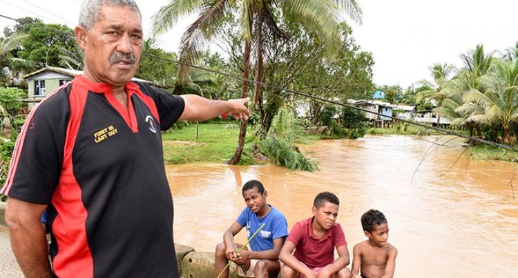 Flood-hit residents blame climate change for damage