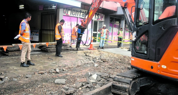 Nadi Footpath Rehabilitation Works Underway
