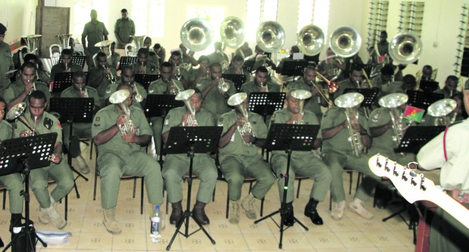 Combined Band Rehearsal Today for Military Tattoo