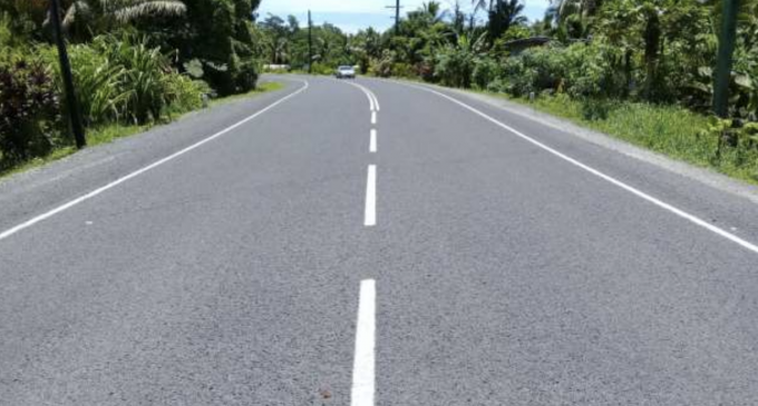 REHABILITATION WORKS COMPLETED ON NAIMASIMASI SECTION ON KINGS ROAD
