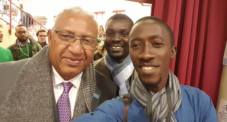 Guinea Youth Rep Excited to Meet COP23 President