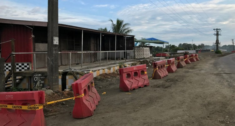 Restaurant On Reserve Being Pulled Down For Road Works