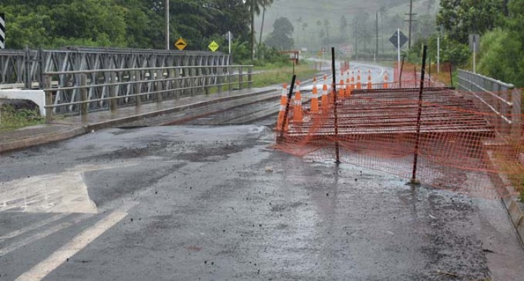 Works on Vatudova Bridge in Labasa underway