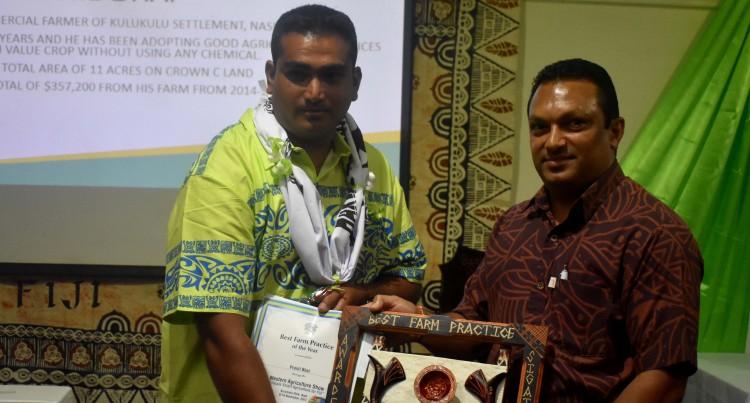 Sigatoka Organic Farmer Wins Award