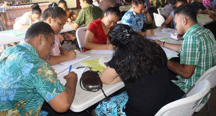 Youth empowerment training for  Lau and Rotuma a success