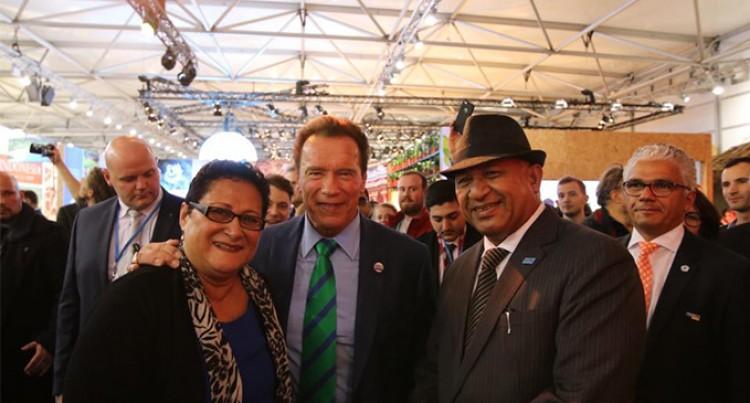 'Terminator' Gets into Groove  of Enchanting Fijian hospitality