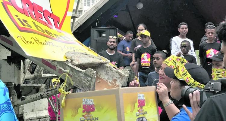 5 Fijians, 5 Isuzu D-Max,  Out of 250,000 Entries