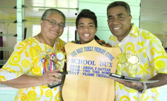 Head boy Of Holy Family Scoops Dux Award