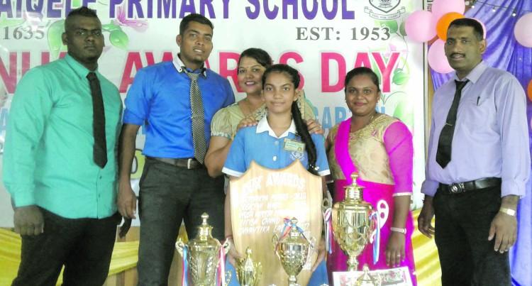 Shivantika Scoops Waiqele Primary School Dux Award
