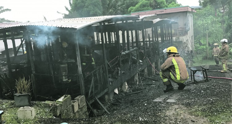 BLAZE : NFA Saves Neighbouring Homes, But Two-Bedroom Destroyed