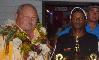 Pillay Scoops Golf Award