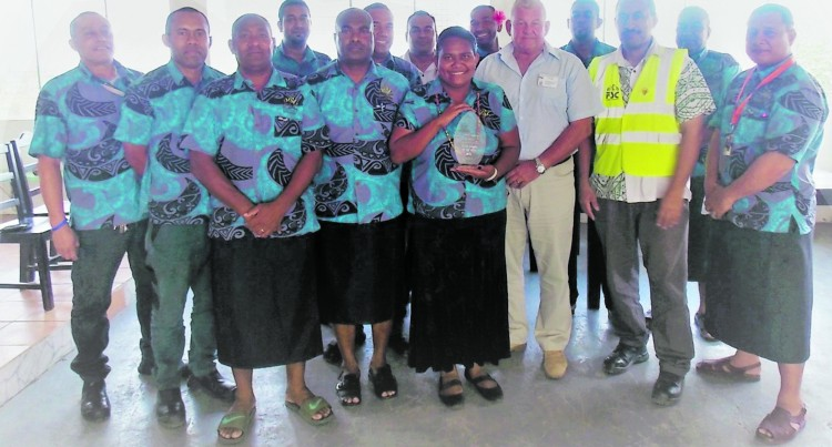SUGAR:  Rarawai Mill's Team Elite Scoop Silver Award