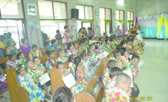 Tears Flow Freely As 131 Pre-Schoolers Graduate