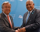 Climate Change About Peace,  Security, Says Bainimarama