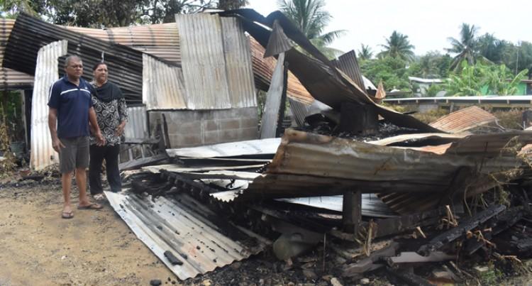 3-Bedroom Home Razed, Family Left Homeless